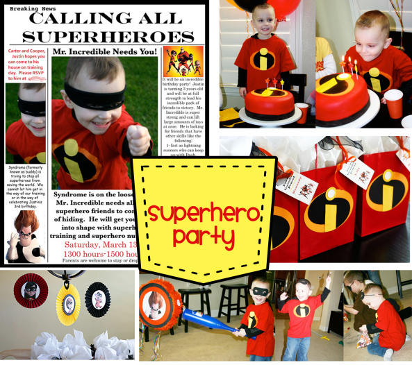 Food Ideas For A Superhero Theme Party