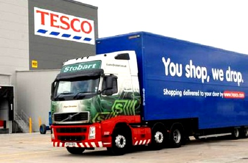 Tescos Trucks Play Dr Jekyll and Mr Hyde