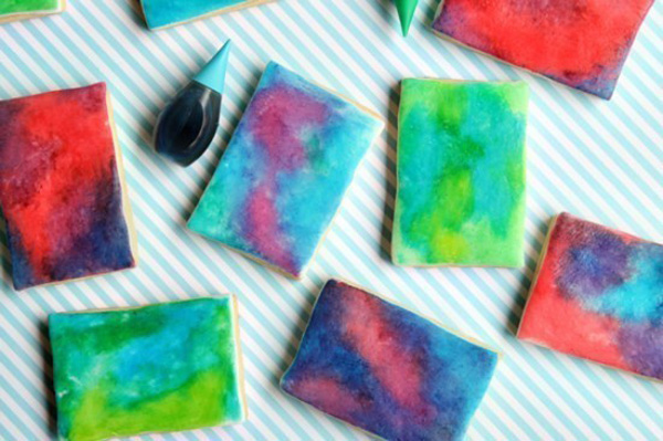 These Watercolor Cookies Are Fun To Make And Eat!