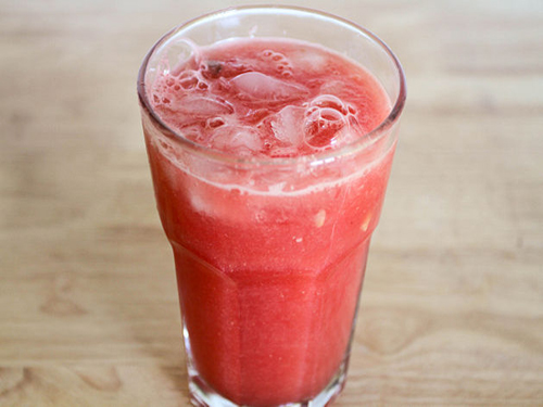 Watermelon Juice: Muscle Pain Reliever