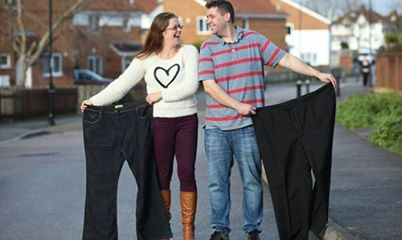 British Couple Who Lost 200 Pounds Together
