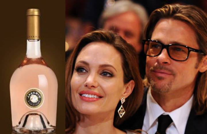 Brad Pitt - Angelina Jolies Wine One Of World's Best 100