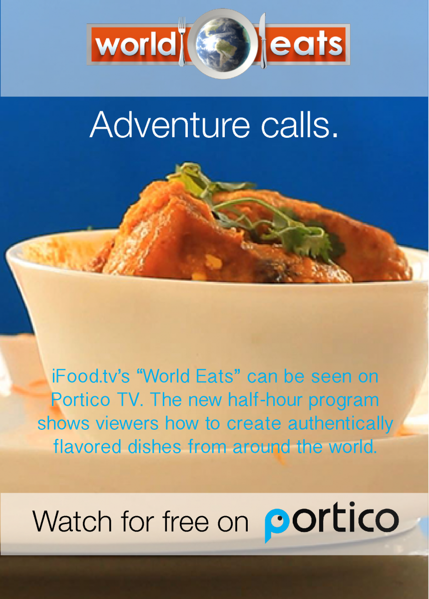 iFood.tv & Portico TV Join Hands For World Eats