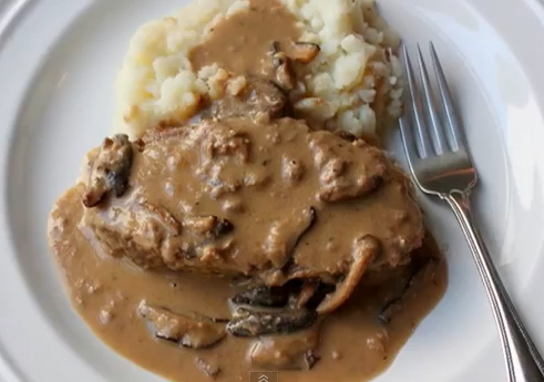 meatloaf_cooked_in_creamy_
