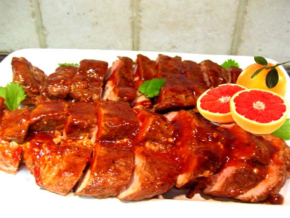 Posted In: Pork Fillet with Grapefruit