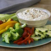Delicious sour cream dip sauce