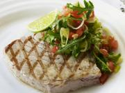 Grilled tuna with its addictive flavor