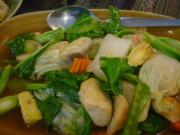 Phat Phak Ruam - wonderful food made with a variety of vegetables