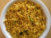 Aloo poha - delhi breakfast