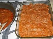 Delicicious hot lasagna dip