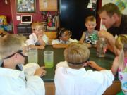 Science party for kids can be interesting with experiments and other activities meant for them