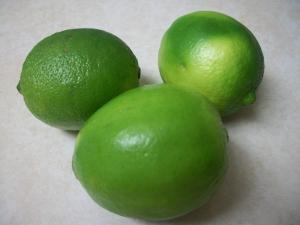 Fresh lime for steaming