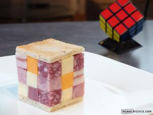 The Insane Rubix's Cube Sandwich!